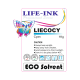 Life-Ink ECO Solvent Tinte Cyan - Professional series