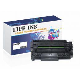 Life-Ink Tonerkartusche ersetzt CE255A (55A) verwendbar...