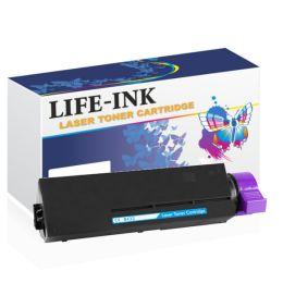 Life-Ink Toner LIOK412BK (ersetzt 45807111, 45807106,...
