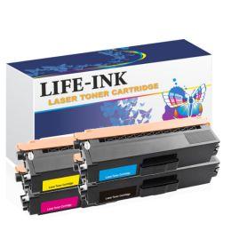 Life-Ink Toner 4er Set ersetzt TN-421, TN-423 für Brother XL