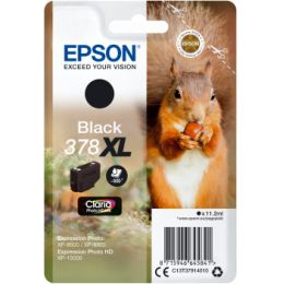 Epson T3791, 378XL Tintenpatrone schwarz