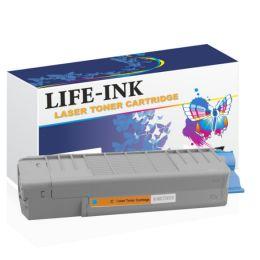 Life-Ink Toner ersetzt OKI 46507507, C612 für Oki Drucker...