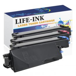 Life-Ink Toner 4er Set ersetzt Kyocera TK-5160