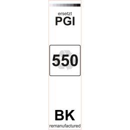 Premium Etiketten für Canon PGI-550BK - 80 st.