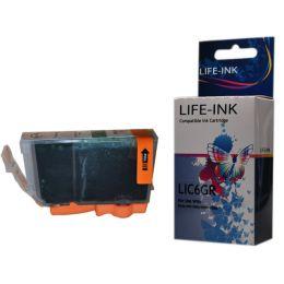 Life-Ink Druckerpatrone ersetzt BCI-6G für Canon Drucker...