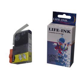 Life-Ink Druckerpatrone ersetzt CLI-521BK für Canon...