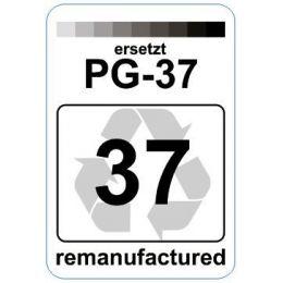 Premium Etiketten für Canon PG-37 - 62 st.