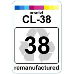 Premium Etiketten für Canon CL-38 - 62 st.