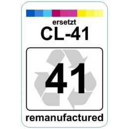 Premium Etiketten für Canon CL-41 - 62 st.