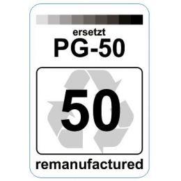 Premium Etiketten für Canon PG-50 - 62 st.