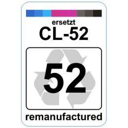 Premium Etiketten für Canon CL-52 - 62 st.