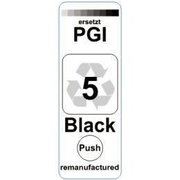 Premium Etiketten für Canon PGI-5BK - 80 st.