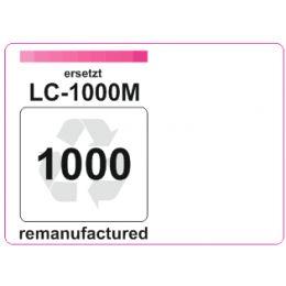 Premium Etiketten für Brother LC-1000M - 29 st.