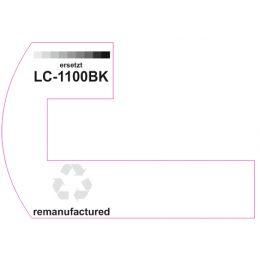 Premium Etiketten für Brother LC-1100BK - 25 st.