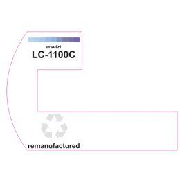 Premium Etiketten für Brother LC-1100C - 25 st.