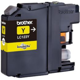 Brother LC-123Y Druckerpatrone yellow