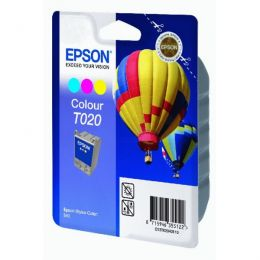 Epson Tintenpatrone color C13T02040110, T020 35ml