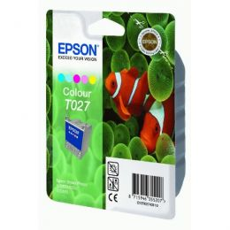 Epson Tintenpatrone color C13T02740110, T027 46ml